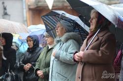У Львові відбувся міжконфесійний молебень за єдність України (ФОТО)