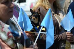 У Львові кримські татари провели мітинг до річниці депортації (ФОТО)
