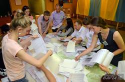 Як на виборчих дільницях Львова рахують голоси (ФОТО)
