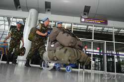 До Львова повернулись миротворці з Конго (ФОТО)