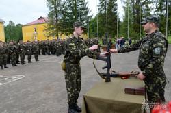 На Львівщині склали присягу бійці 3-го батальйону територіальної оборони (ФОТО)