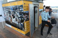 На львівській Ратуші відкрили панораму з описами пам'яток Львова (ФОТО)