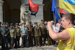 У Львові пройшло віче з нагоди 73 річниці відновлення Української Держави (ФОТО)