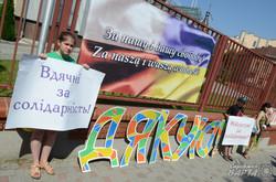 Львів'яни подякували полякам за солідарність (ФОТО)