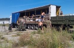 60 тонн допомоги на передову