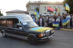 У Львові зустріли тіла одинадцятьох бійців, загиблих у зоні АТО (ФОТО)