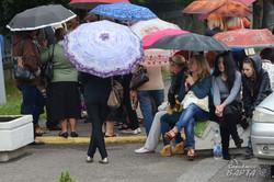 Матері бійців АТО у Львові перекрили вулицю Стрийську та вимагають ротації (ФОТО, ВІДЕО)