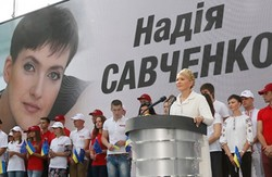 Тимошенко формує корпуси «досвідчених військових» і «послів миру», обіцяє допомагати Президенту і ловити «політичних мародерів»
