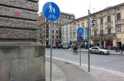 Позначок на велодоріжках у Львові побільшало