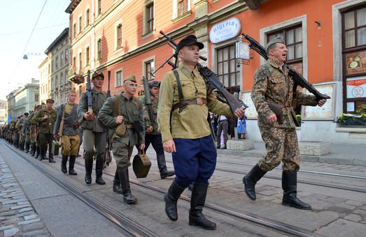 У Львові пройшов Марш слави з нагоди річниці УПА (ФОТО)