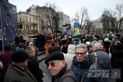 Львів. Рік після початку Майдану (ФОТО)