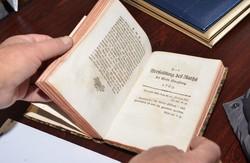 Рідкісна книга XVIII ст поповнила колекцію бібліотеки у Львові (ФОТО)