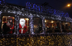 У львівських трамваях лунає різдвяна коляда