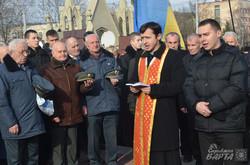 У Львові поклали квіти до могили учасника бою під Крутами Ігоря Лоського (ФОТО)