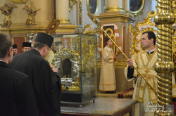 Із Ватикану до Львова прибув оригінал Нерукотворного образу Ісуса Христа (ФОТО)