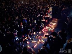 У Львові вшанували пам'ять Кузьми «Скрябіна» (ФОТО)
