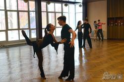Пара зі Львова провела відкрите тренування перед виступом на Чемпіонатом Європи зі секвою (ФОТО)
