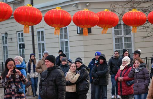 У Львові зустріли Китайський Новий рік (ФОТО)