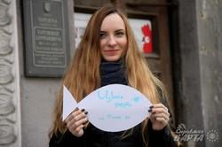 """Простір """"Щось цікаве"""" до річниці окупації Криму нагадує львів`янам про проблему (ФОТО)"""