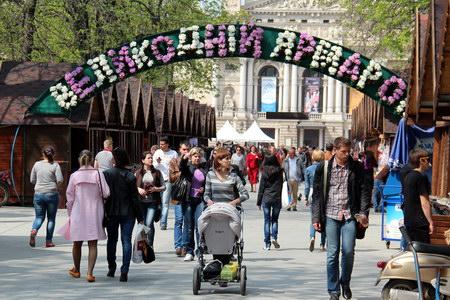Великодній ярмарок у Львові триватиме більше місяця