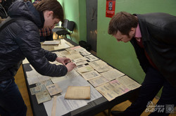 У Львові показали новознайдений архів Служби безпеки ОУН (ФОТО)