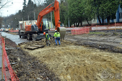 Частину вулиці Стуса у Львові закрили на тривалий ремонт (ФОТО)