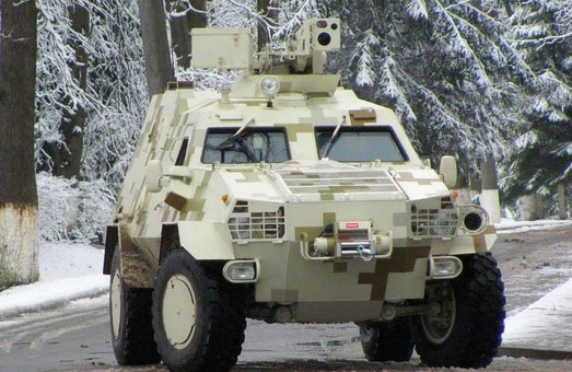 У Львові запустили серійне виробництво бронеавтомобіля «Дозор-Б» (ФОТО)