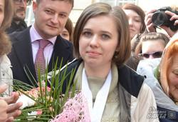 Чемпіонка світу з шахів Марія Музичук повернулася до Львова (ФОТО)