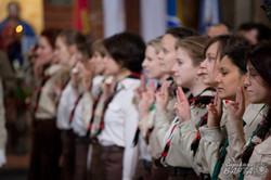 Пластунський курінь «Рутенії» освятив свій прапор (ФОТО)