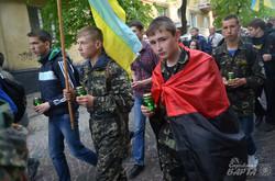 У Львові мовчазною ходою вшанували пам'ять загиблих у Другій світовій війні (ФОТО)