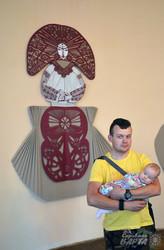 У Львові презентували творчий експеримент «Ткане, витнуте і вбране» (ФОТО)