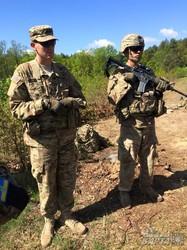 Як американські десантники вчать бійців Нацгвардії України (ФОТО)