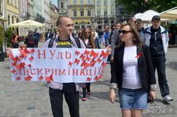 У Львові відбулась акція пам'яті померлих від СНІДу (ФОТО)
