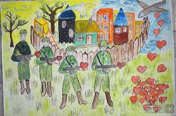У Львові відкрили виставку малюнків дітей бійців АТО (ФОТО)