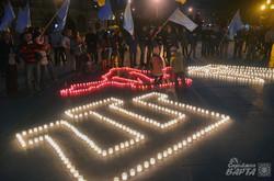 У Львові запалили свічки пам'яті жертв депортації кримськотатарського народу (ФОТО)