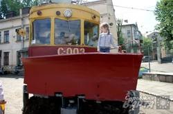 Львівське трамвайне депо відкрило двері для відвідувачів (ФОТО)
