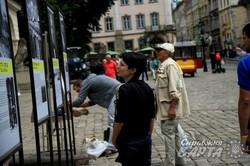 На площі Ринок експонується виставка про Донбас (ФОТО)