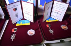 У Львові воїнам і волонтерам вручили ордени «Народний герой України» (ФОТО)