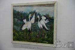 У Львові розпочалась виставка наївного живопису Олени Рибальченко (ФОТО)