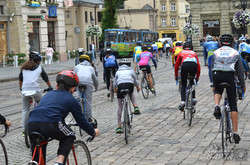 У Львові стартував велопробіг «Звертай на право» за участю екс-прем'єра Литви (ФОТО)