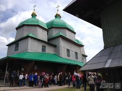 Дерев'яна церква с.Жирівка, 1770р