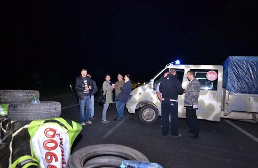 Правий сектор на виїзді зі Львова готується не пускати Нацгвардію в Мукачево