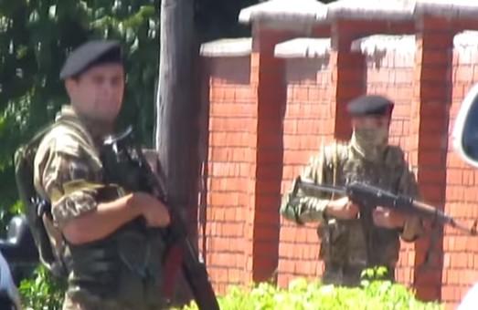 Оубліковано відео початку перестрілки в Мукачевому