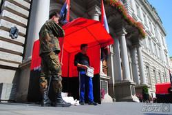 У Львові Правий Сектор проводить безстрокову акцію протесту (ФОТО)