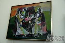 У Львові пройшла ретроспективна виставка графіки та малярства Івана Остафійчика (ФОТО)