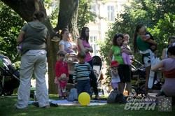 У Львові відзначають Всесвітній тиждень грудного вигодовування (ФОТО)
