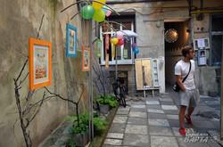У Львові відкрилась виставка акварелі Надії Сіверс «Кіт і літо» (ФОТО)