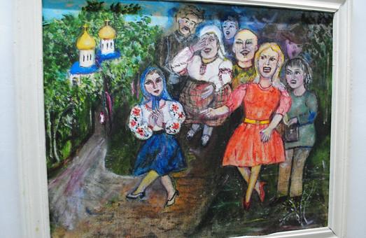 У Львові стартувала виставка наївного живопису Олени Рибальченко (ФОТО)