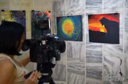 У Львові відкрилась благодійна виставка картин бійців АТО (ФОТО)
