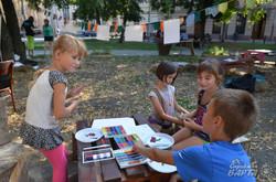 На площі Теодора у Львові відбулись єврейські фестини (ФОТО)